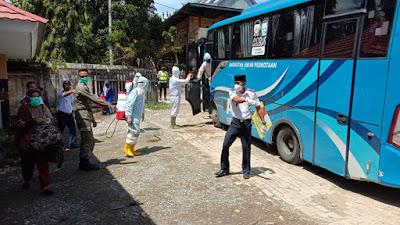 Dijemput di Pelabuhan Nusantara Parepare, 21 Orang dari Malaysia Diisolasi di RSUD Lamaddukelleng
