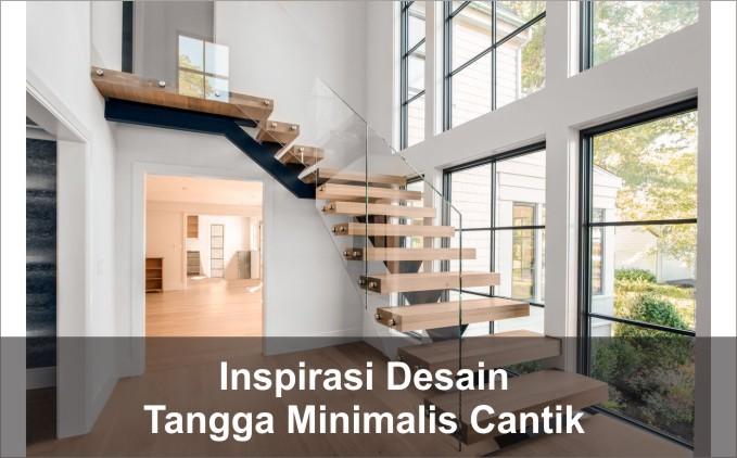 desain tangga minimalis cantik