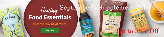 September's Supplement Offers at PureFormulas!