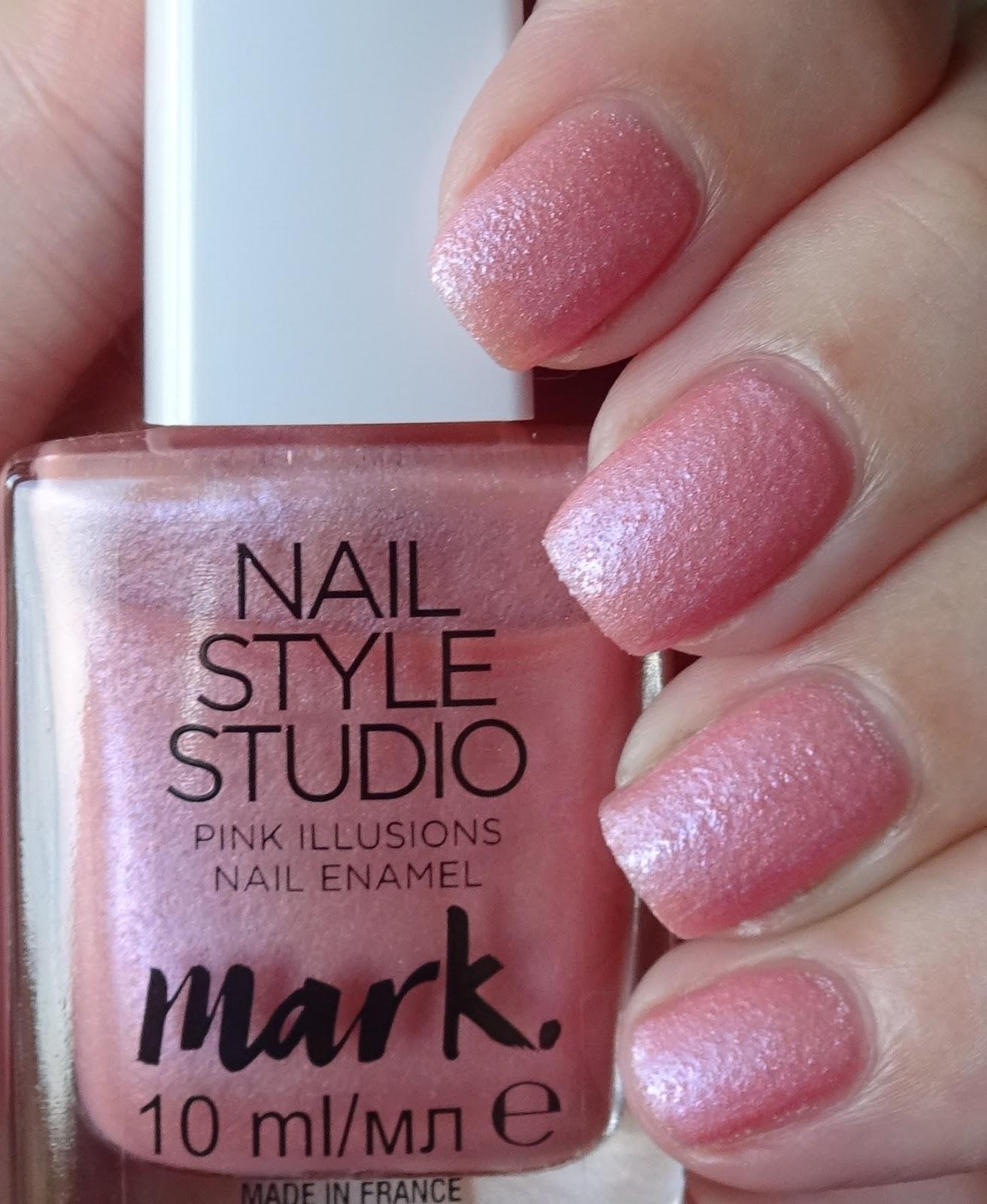 Studio M Nail Polish: Wendy's Delights: Avon Mark Nail Style Studio Nail Enamel