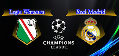 Legia Warsaw 3 - 3 Real Madrid - Soccer Highlights
