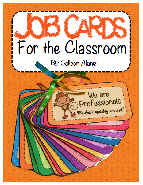 http://www.teacherspayteachers.com/Product/We-are-Professionals-Job-Cards-278752