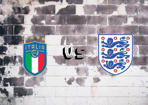 Italia vs Inglaterra  Resumen y Partido Completo