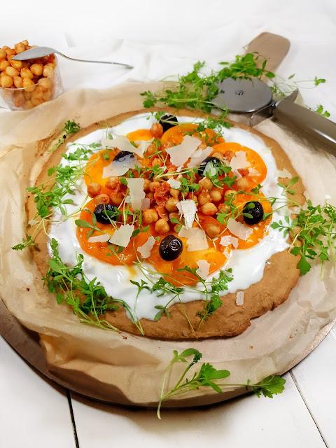 GALETTE EXPRESS façon PIZZA sans gluten à la farine de pois chihes & amarante