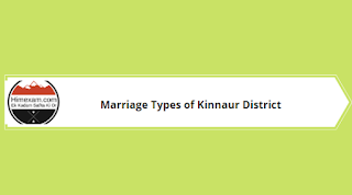 Marriage Types of Kinnaur District