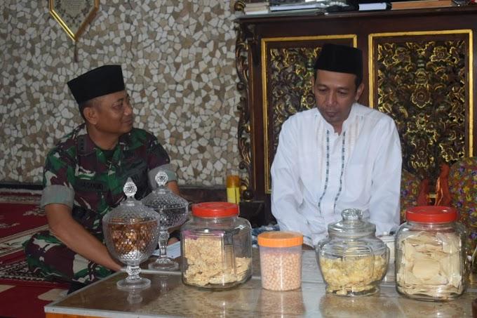 Silaturahmi Dengan Gus Mizan, Danrem 081/DSJ Singgung Penguatan Peran Ponpes Dalam Membangun Bangsa.