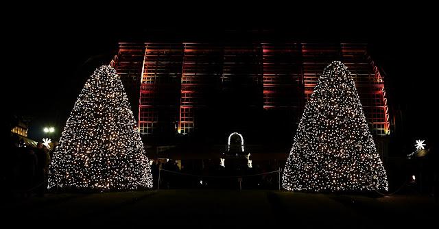 Zu Besuch im Christmas Garden Berlin