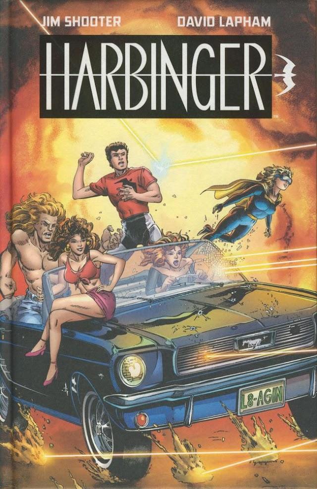 Harbinger [1992] de Jim Shooter et David Lapham aux éditions Bliss Comics