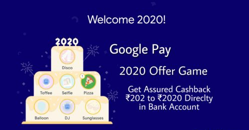 Trick to Get Disco & Selfie Stamp in Google Pay 2020 Cake Offer