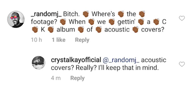 Crystal Kay is preparing to work on a cover album. My impact. | Random J Pop