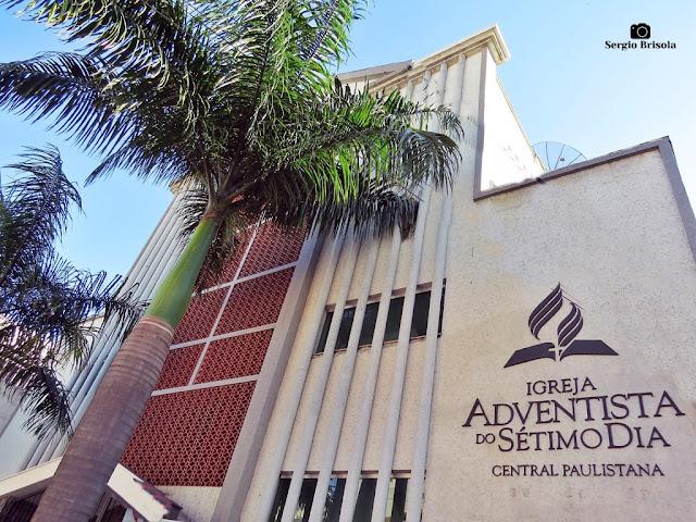 Fachada da Igreja Adventista do Sétimo Dia - Liberdade - São Paulo