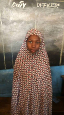 Photo: 16-year-old girl found with legs shackled in Katsina