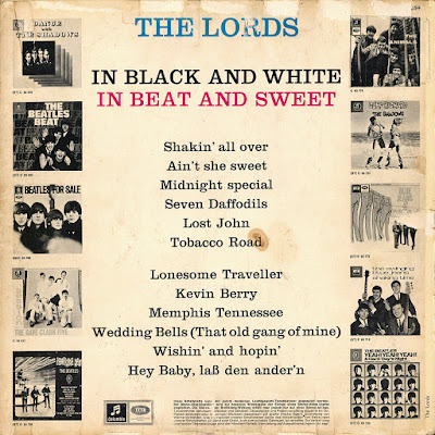 The Lords  - In Black And White - In Beat And Sweet (1965)