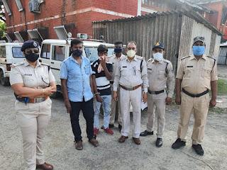 3 हजार रूपये का फरार ईनामी आरोपी एन.एस.ए. में गिरफ्तार