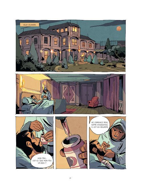 Eden tome 2 -L'âme des inspirés Page 14 aux éditions Rue de Sèvres