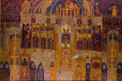 Νίκος Γαβριήλ Πεντζίκης, «Λειτουργία στο Πρωτάτο