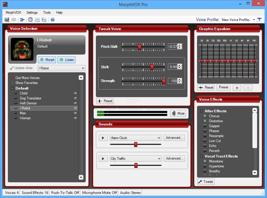 برنامج تحويل الصوت من رجل الى امراة للكمبيوتر