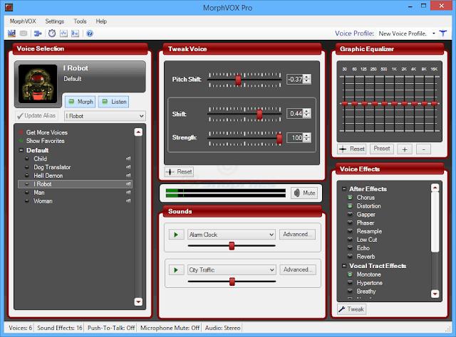 تحميل برنامج تغير الصوت للكمبيوتر MorphVOX Pro 2020
