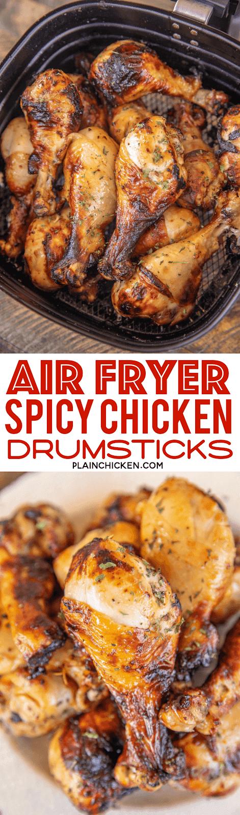 chicken drumsticks in air fryer