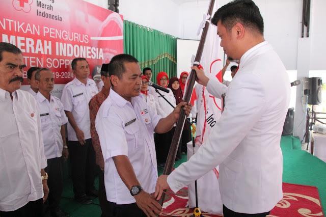 Dilantik Jadi Ketua PMI Soppeng, Tenri Sessu Laporkan Aset PMI Soppeng