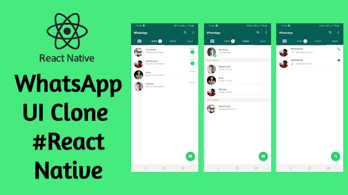How To Create WhatsApp UI Clone In React Native?