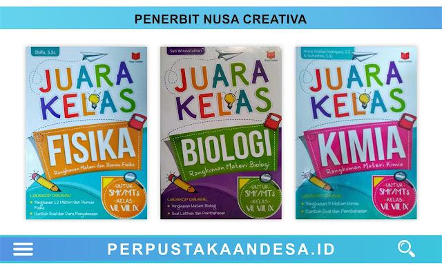 Daftar Judul Buku-Buku Penerbit Nusa Creativa