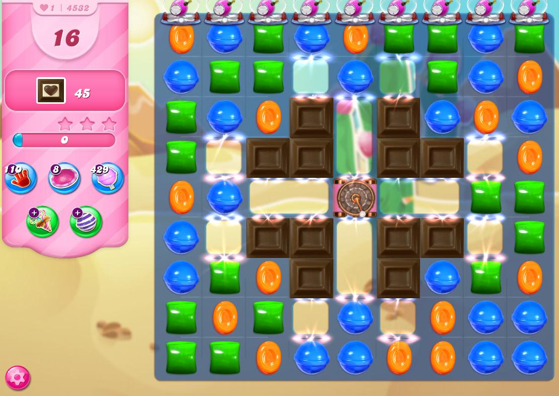 Candy Crush Saga level 4532