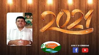 Mensagem de ano novo do Vereador Branco
