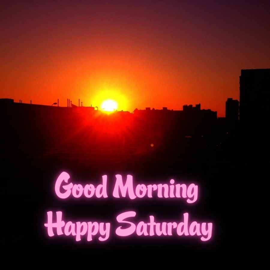 saturday good morning wishes