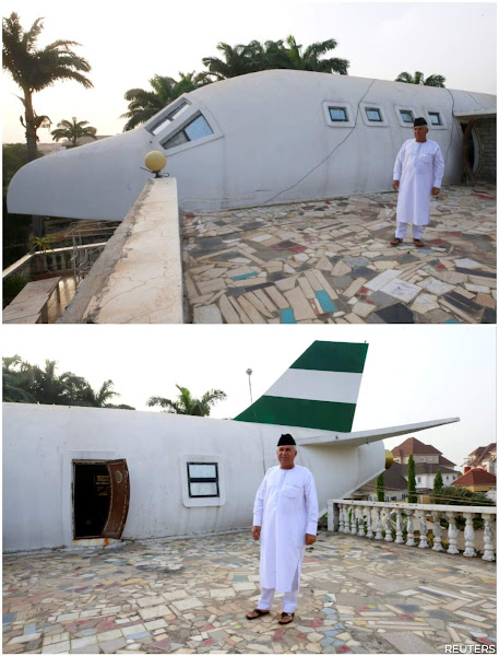 Lebanese-Nigerian Jammal Builds Airplane-Shaped House in Abuja, Nigeria - News