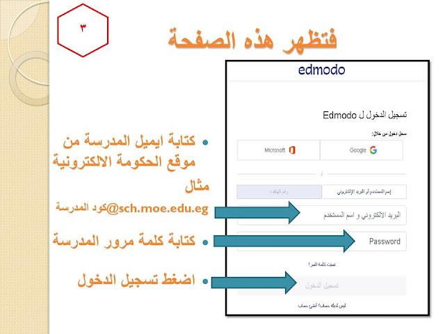 بالخطوات خطوات التسجيل على المنصة للمعلم والطالب وطريقة اعداد الطالب للمشروعات البحثية 3%2B%25283%2529