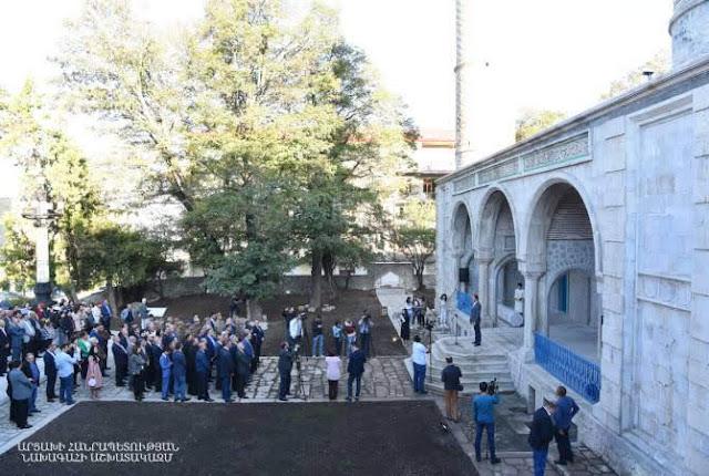 Inauguran Centro Cultural Iraní Armenio