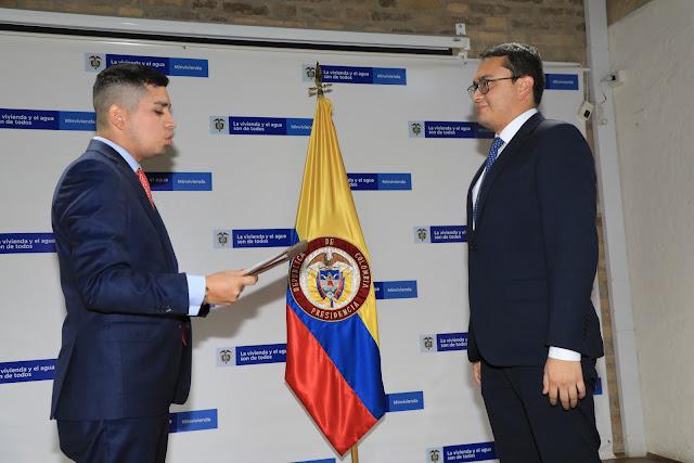 Carlos Alberto Ruiz Martínez se posesionó como Viceministro de Vivienda
