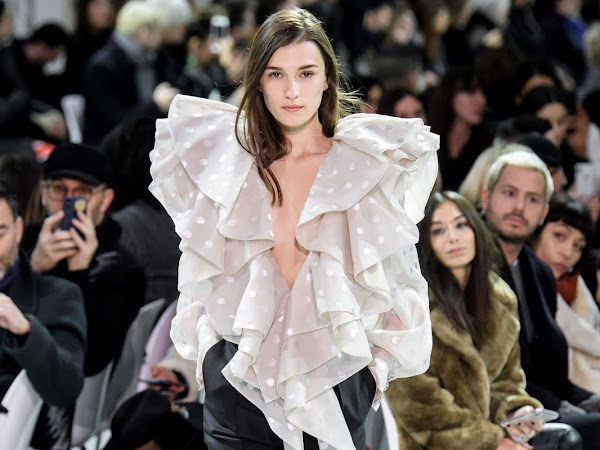 Paris Couture Week Spring 2019 // Alexandre Vauthier