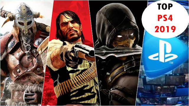 TOP de videojuegos de PS4 más jugados en 2019.