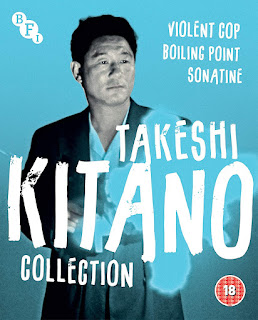 Takeshi Kitano on DVD cover