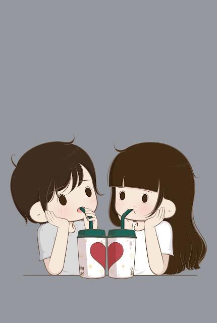 couple wallpaper cartoon
