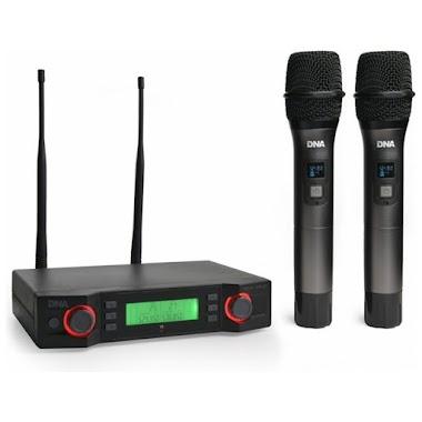 Solidny budżetowy mikrofon bezprzewodowy - oto DNA Ducal Vocal Set