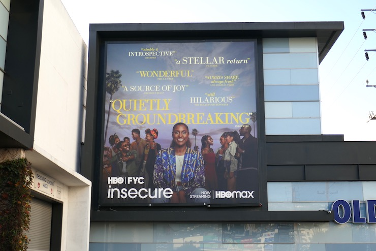 Insecure season 4 FYC billboard