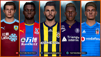 PES 2017 Best Facepack Collection by Rean Tech Vol 3