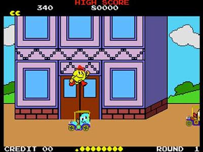 Pac-man in Pac-Land (arcade)