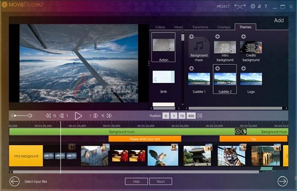 تحميل برنامج  تحرير فيديو قوي وسهل الاستخدام Ashampoo Movie Studio Pro 3.0.3
