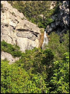 Another picture of the Unnamed Waterfall in Provo Canyon