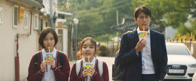 Soon Ho bertemu Ji Woo setiap kali habis sesi persekolahan