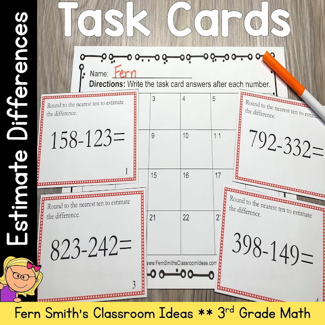 Some inexpensive, quick and easy to prep task cards!