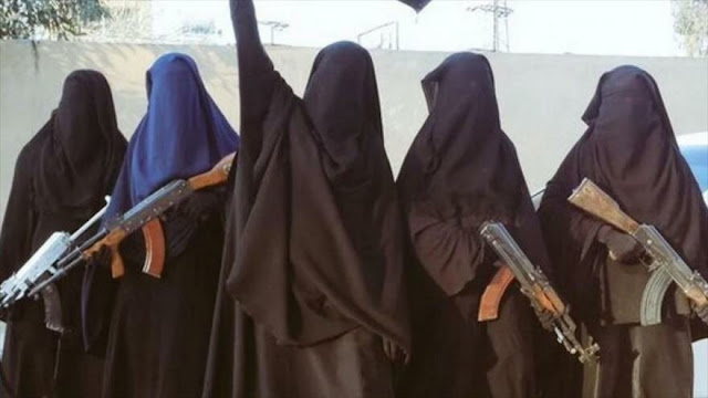 Irak: Daesh recluta a mujeres para ataques suicidas en el mundo