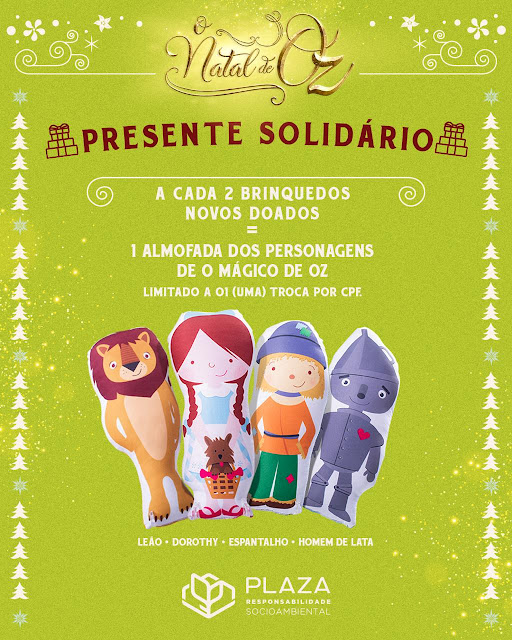 Plaza Casa Forte Projeto Presente Solidário do Plaza arrecada brinquedos para crianças
