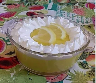 تحلية بذوق الليمون منعشة إقتصادية وراقية سهلة وسريعة -مجلة سيليا