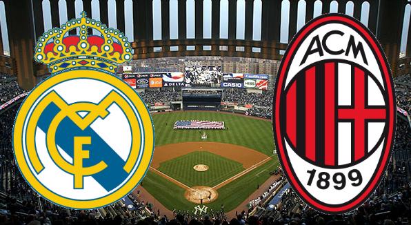 مباراة ريال مدريد وميلان اليوم