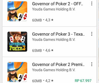main game poker di android